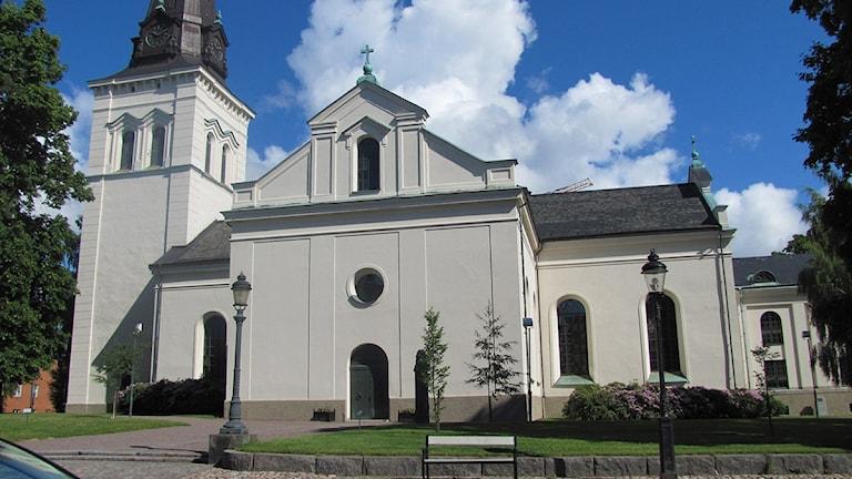 Domkyrkan i Karlstad. Foto: Isak Olsson/P4 Värmland.