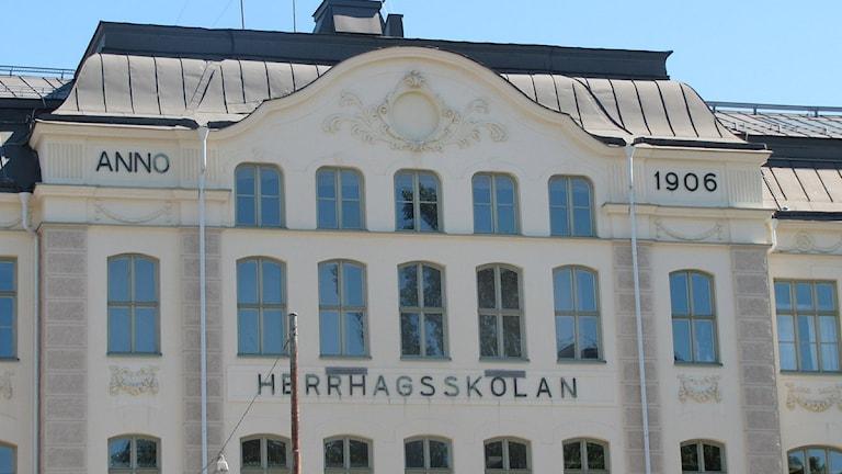 Herrhagsskolan i Karlstad. Foto: Isak Olsson/P4 Värmland.