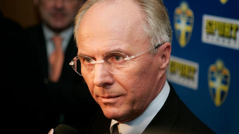 Sven-Göran Svennis Ericsson. Foto: Henrik Montgomery/Scanpix.