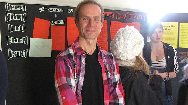 Lars Stiernelöf, demokratiutvecklare Sunne kommun