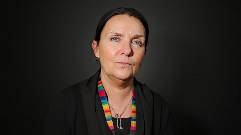 Lena Hertzberg. Foto: Lars-Gunnar Olsson/Sveriges Radio.