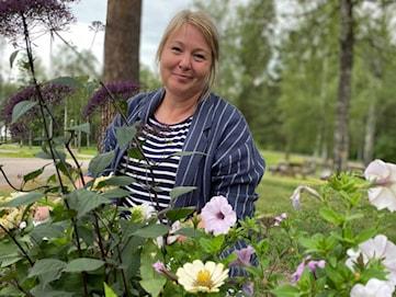 Från sjukhuset till trädgården - Jessica vårdar allt levande