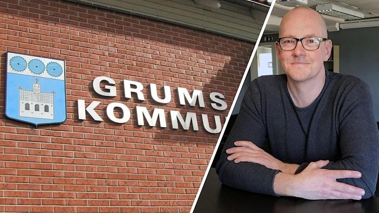 Grums kommun, Martin Karlsson. Foto: Magnus Hermansson/Sveriges Radio och Per Larsson/Sveriges Radio.