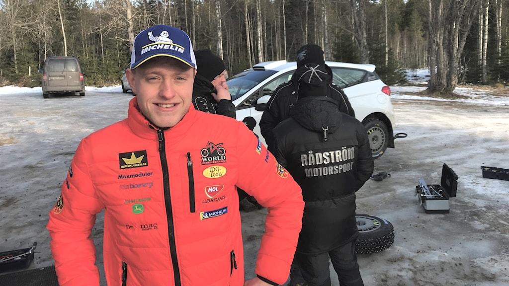 Dennis Rådström. Foto: Per Larsson/Sveriges Radio.