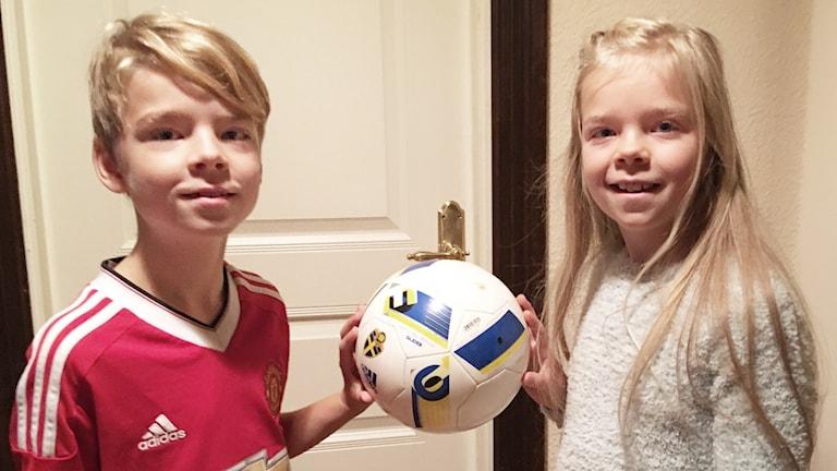 Anton och Jonna Arvsell. Foto: Per Larsson/Sveriges Radio.