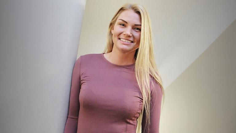 Rebecca Karlsson. Foto: Lars-Gunnar Olsson/Sveriges Radio.
