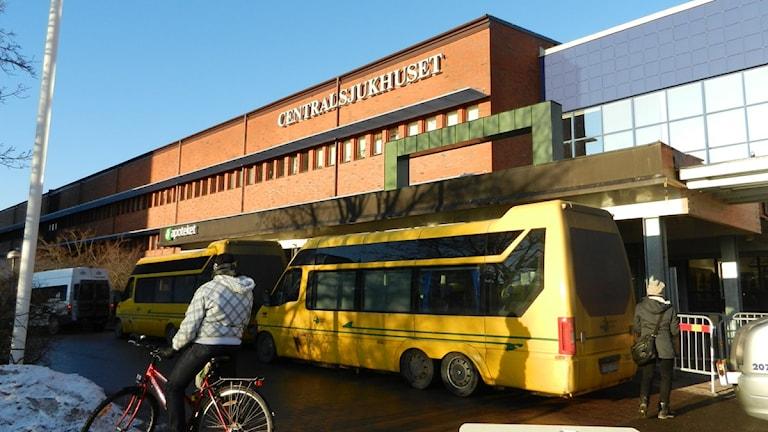 Centralsjukhuset i Karlstad.