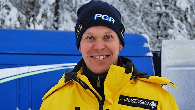 P-G Andersson. Foto: Maria Berglind/Motorsport i Värmland