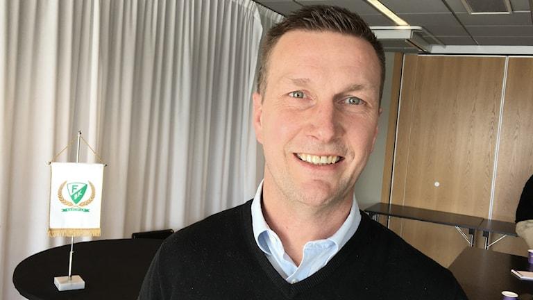 Johan Pennerborn, Färjestad. Foto: Tomas Hedman/Sveriges Radio.
