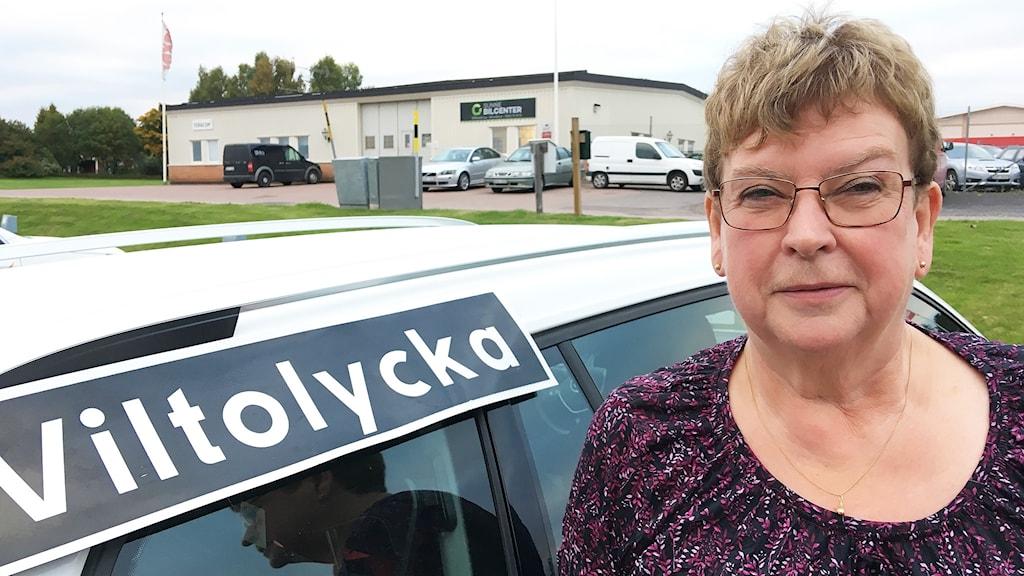 Lena Jansson, Nationella viltolycksrådet. Foto: Per Larsson/Sveriges Radio.