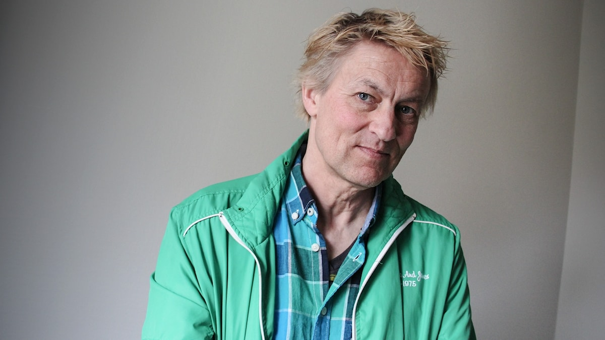Lars lerin. Foto: Lars-Gunnar Olsson/Sveriges Radio.