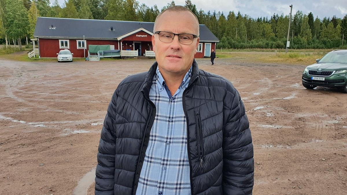 Hans Jildesten (S), kommunalråd i Storfors kommun. Foto: Aron Eriksson/Sveriges Radio.