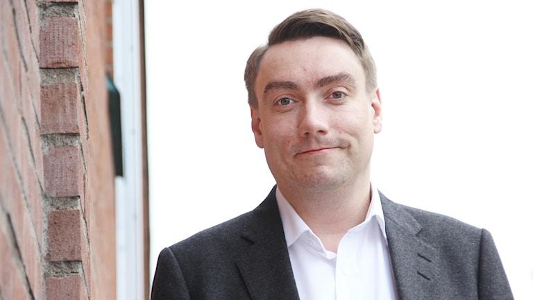 Erik Nilsson, Kristdemokraterna i Karlstad. Foto: Lars-Gunnar Olsson/Sveriges Radio.