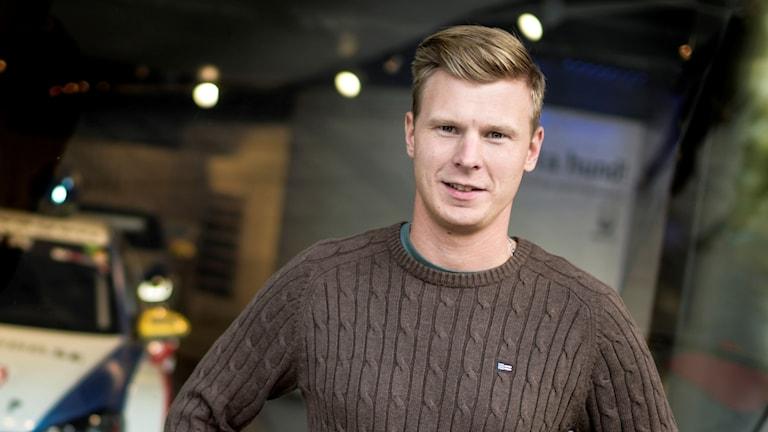 Johan Kristoffersson. Foto: Pontus Lundahl/TT.