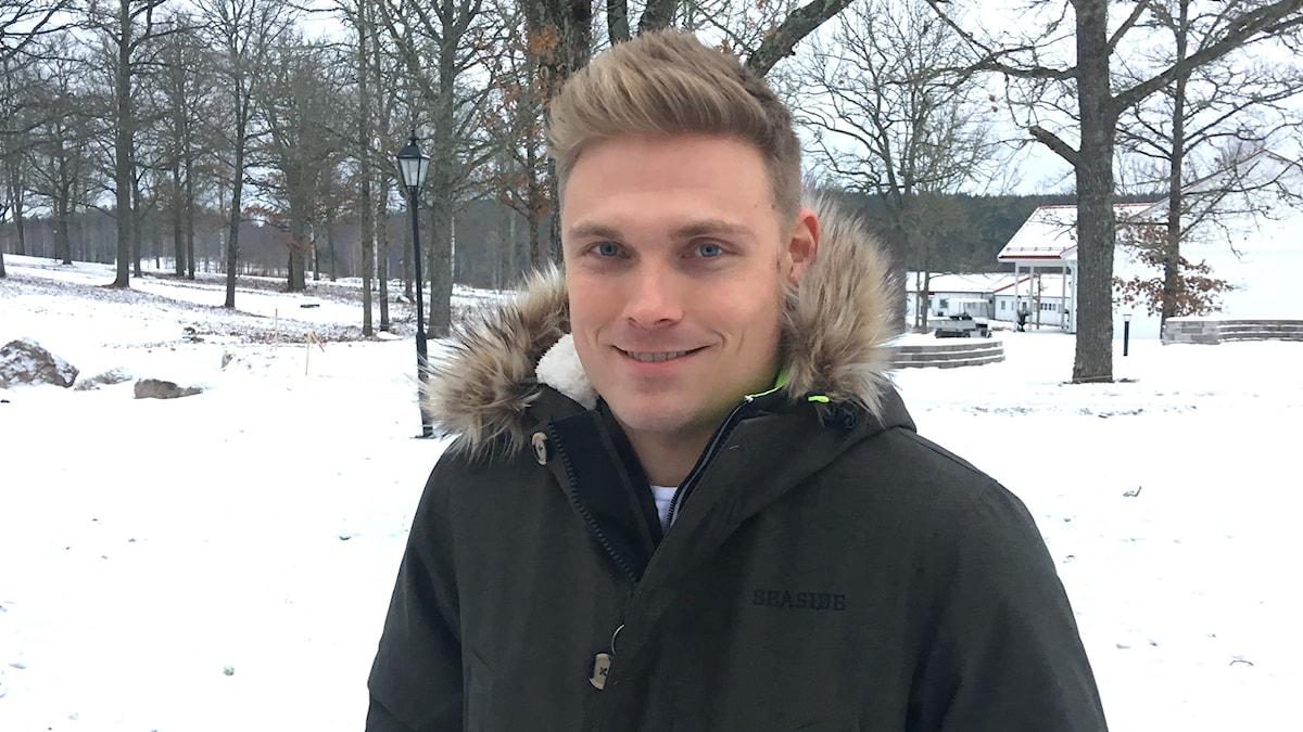 Pontus Tidemand. Foto: Per Larsson/Sveriges Radio.