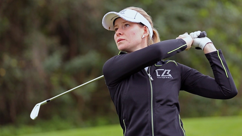Jenny Haglund spelar British open 2017