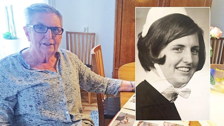Marianne Nilsson har jobbat som barnmorska på Centralsjukhuset i Karlstad i 50 år.