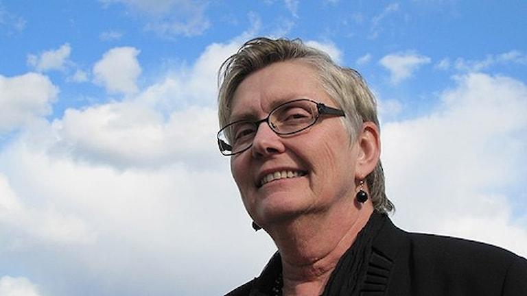 Annétthe Zettergren.  Foto: Lennart Nordenstein/Sveriges Radio.