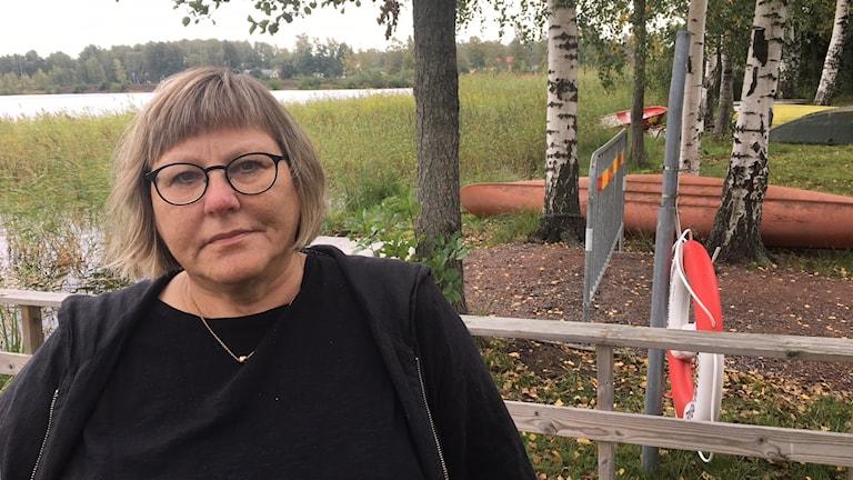 Marianne Fröding, Karlstads kommun. Foto: Jenny Tibblin/Sveriges Radio.