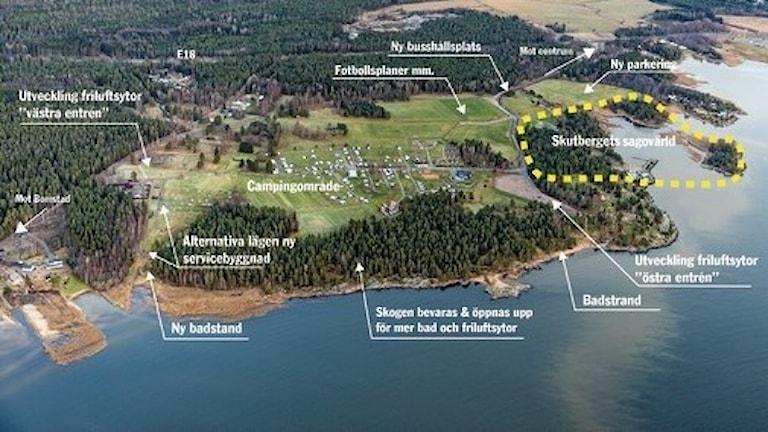 Detaljplan för Skutbergets sagovärld