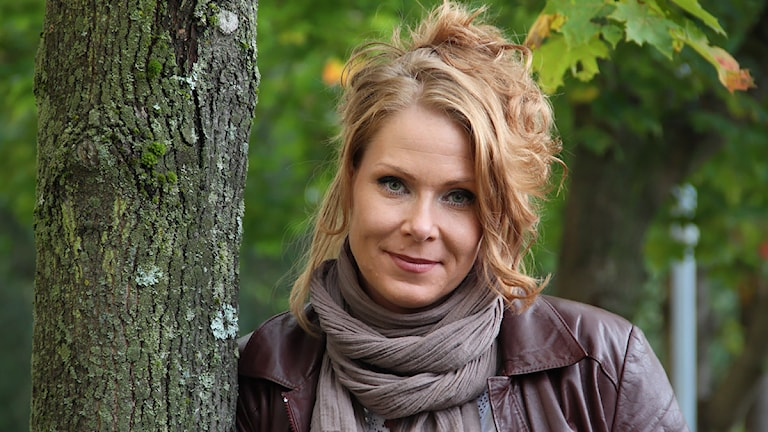 Marléne Lund Kopparklint. Foto: Lars-Gunnar Olsson/Sveriges Radio.