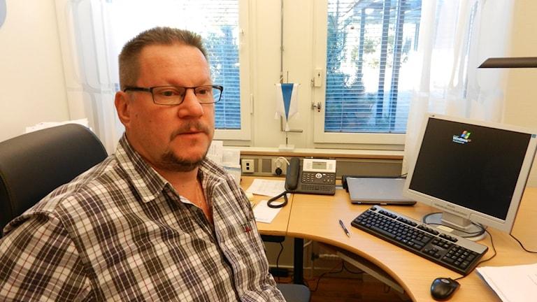 Mikael Johansson, socialdemokratiskt kommunalråd i Kil Foto: Roy Malmborg