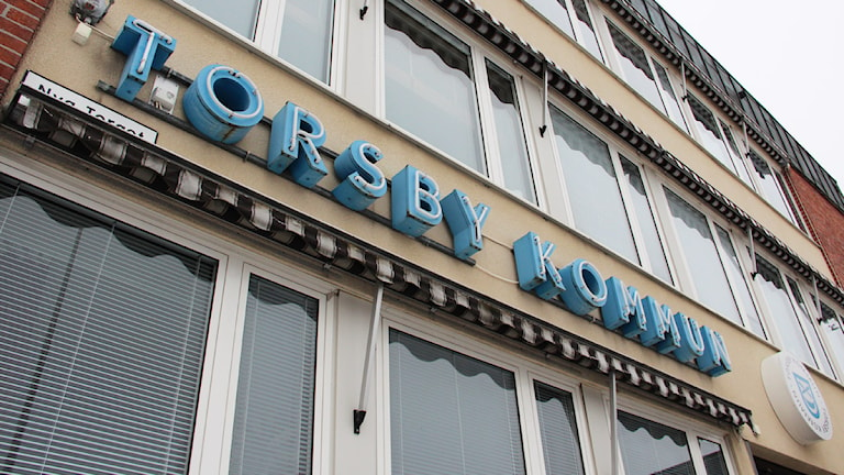 Torsby kommun, kommunhuset. Foto: Lars-Gunnar Olsson/Sveriges Radio.