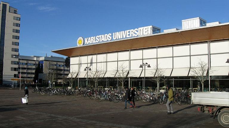 Karlstads universitet. Foto: Tomas Hedman/Sveriges Radio.