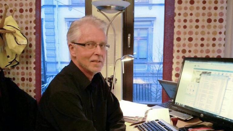 Olle Hyensjö, chef på Arbetsförmedlingen. Foto: Lennart Nordenstein Sveriges Radio
