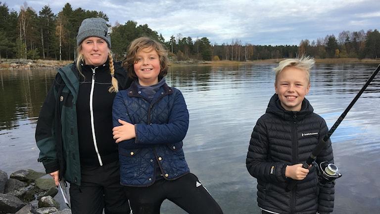 Jenny Sjöstedt , Love Kjellberg Lundmark och Albin Ludvigsson.