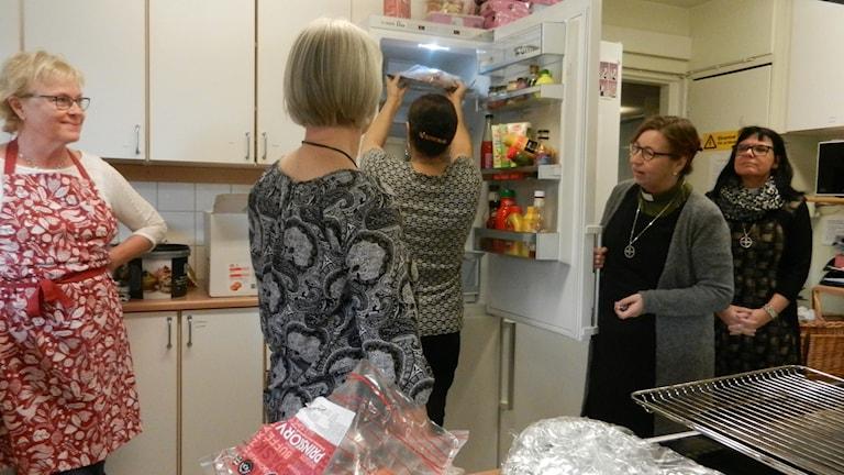 Full fart i köket under julhelgen har det varit i köket hos Norrstrands församling i Karlstad.