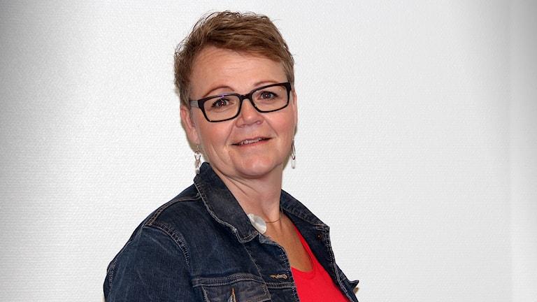 Annika Axelsson, Integrationssamordnare Hammarö kommun. Foto Örjan Bengtzing/Sveriges Radio