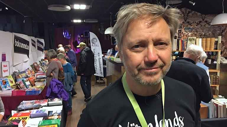 Ricky Andreis. Foto: Tomas Hedman/Sveriges Radio.