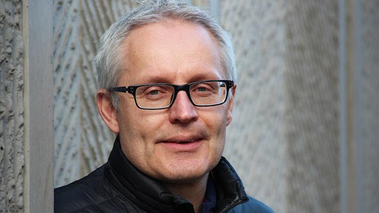 Tony Kyrk. Foto: Lars-Gunnar Olsson/Sveriges Radio.