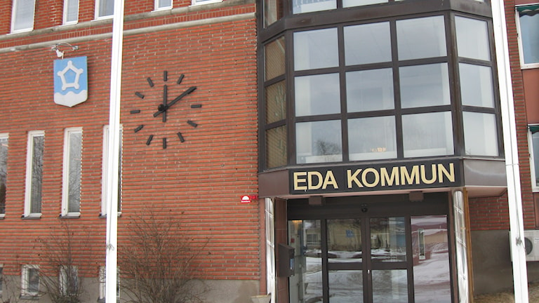 Eda kommun, kommunhuset. Foto: Tomas Hedman/Sveriges Radio.
