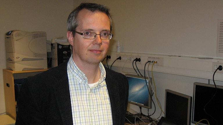 Mats Möller. Foto: Tomas Hedman/Sveriges Radio.