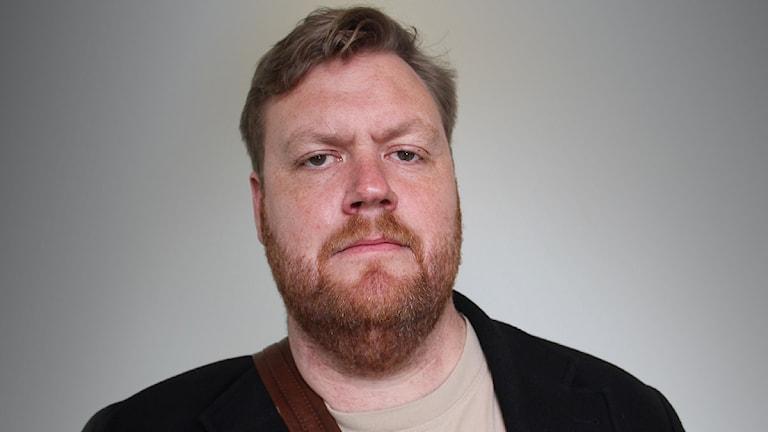Kristoffer Appelquist. Foto: Lars-Gunnar Olsson/Sveriges Radio.