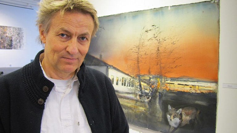 Lars Lerin. Foto: Mari Stenström/P4 Värmland.