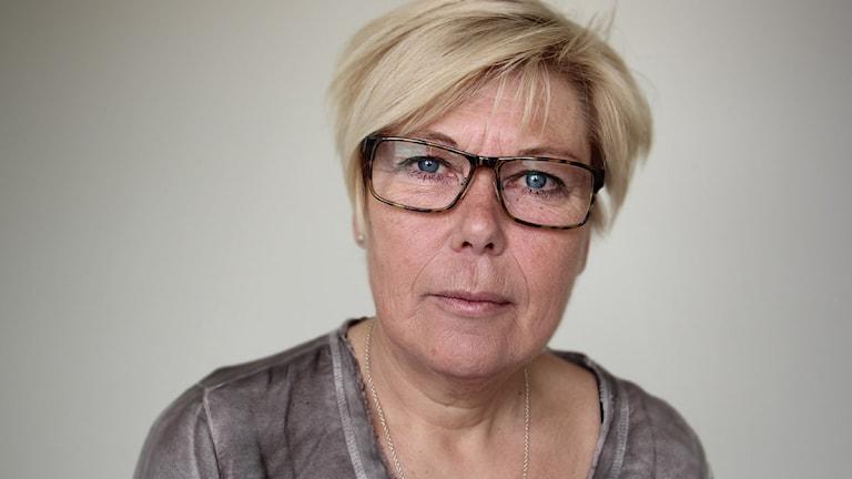 Berit Högman (S). Foto: Lars-Gunnar Olsson/Sveriges Radio.