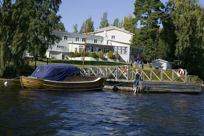 Frykenstrands hotell idag. Foto Frykenstrand.