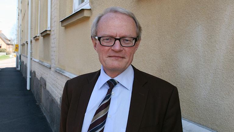 Konsumentombudsmannen Gunnar Larsson. Foto: Magnus Hermansson/Sveriges Radio.