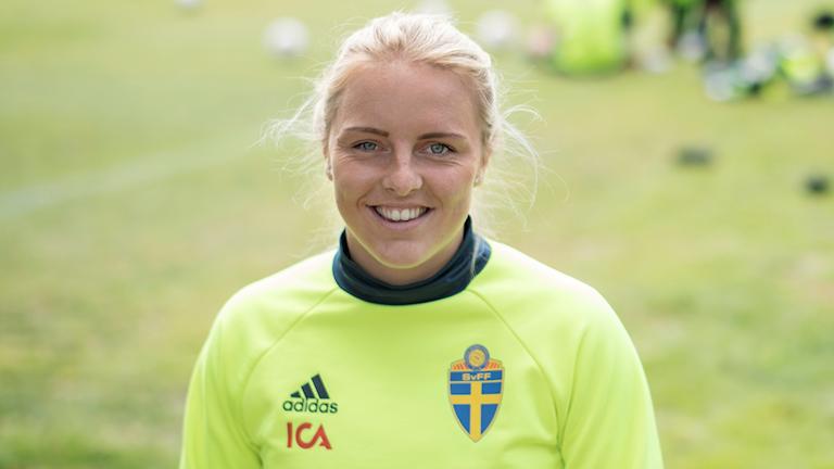 Mimmi Larsson. Foto: Björn Rosvall/TT.