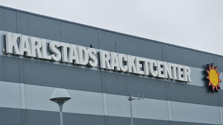 Karlstad Racketcenter. Foto: Isak Olsson/Sveriges Radio.