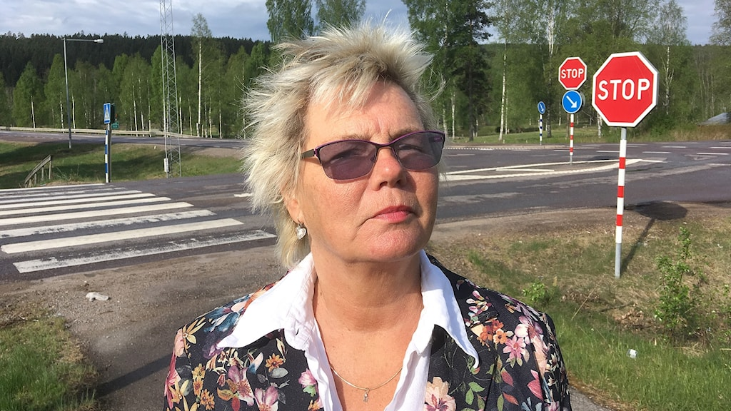 Brigitta Karstensson. Foto: Per Larsson/Sveriges Radio.