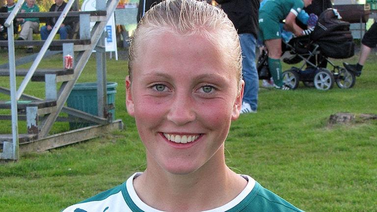 Julia Karlenäs. Foto: Ola Carlsson/Sveriges Radio.