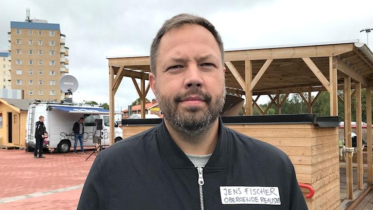 Jens Fischer, Oberoende realister i Hagfors. Foto: Annika Ström/Sveriges Radio.