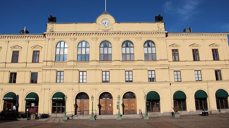 Här i Värmlands tingsrätt stod paret åtalade för övergreppen. Foto: Lars-Gunnar Olsson/Sveriges Radio.