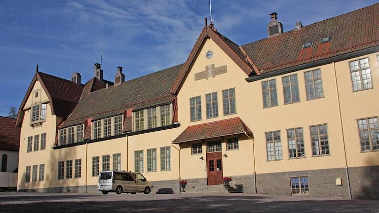 Lundsbergs skola. Foto: Örjan Bengtzing/Sveriges Radio.