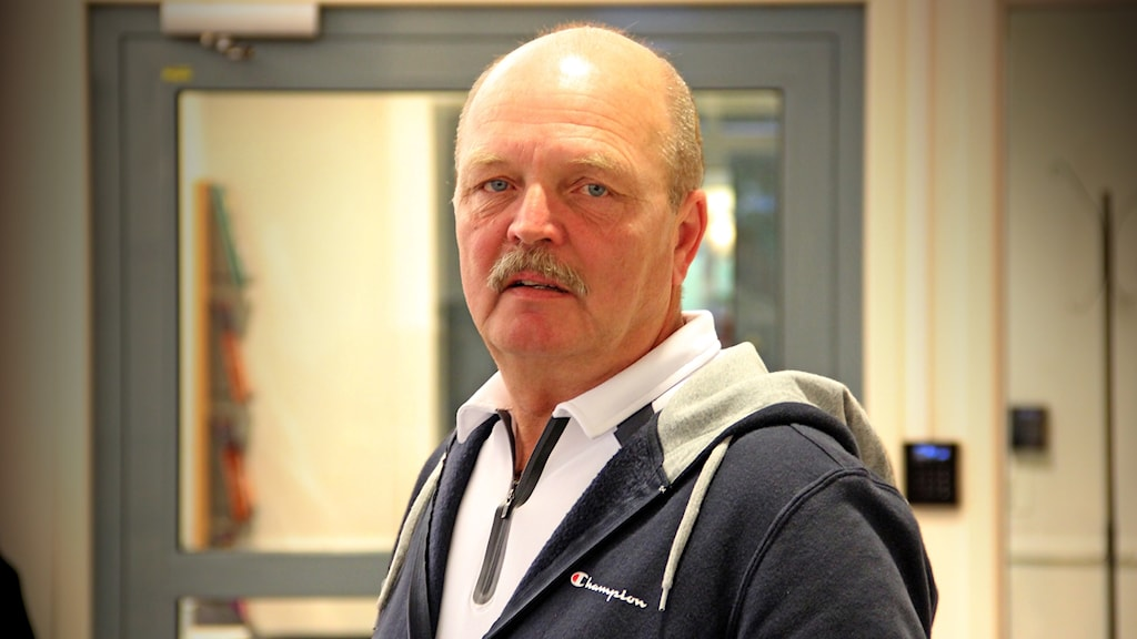 Lennart Hynynen, Polisen i Värmland. Foto Örjan Bengtzing/Sveriges Radio