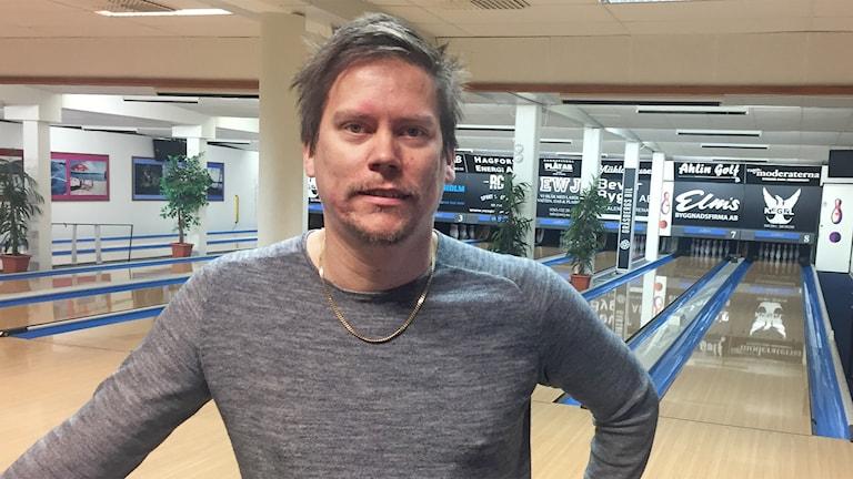 Joakim Biehl. Foto: Sara Johansson/Sveriges Radio.